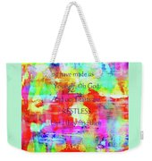 A God-shaped Hole Weekender Tote Bag