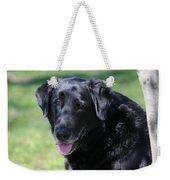 A Good Dog Weekender Tote Bag