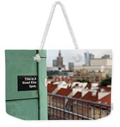 A Good Kiss Spot Weekender Tote Bag