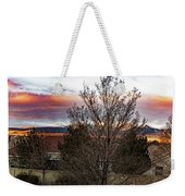 A Good Time To Rise Weekender Tote Bag