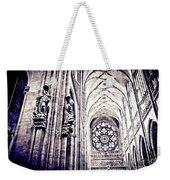 A Gothic Church Weekender Tote Bag