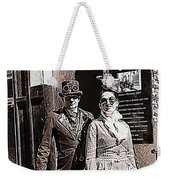 A Gothic Stroll Weekender Tote Bag