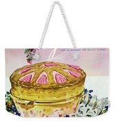 A Gourmet Cover Of A Souffle Weekender Tote Bag