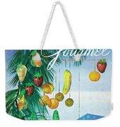 A Gourmet Cover Of Marzipan Fruit Weekender Tote Bag