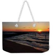A Grand Beach Sunset Weekender Tote Bag