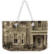 A Grand Victorian 3 - Sepia Weekender Tote Bag