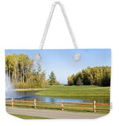 A Great Day For Golf Weekender Tote Bag
