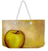 A Green Apple Weekender Tote Bag