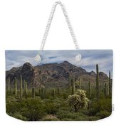 A Green Desert Forest  Weekender Tote Bag