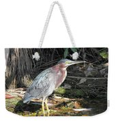 A Greenie With Reflection Weekender Tote Bag