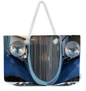 A Grille With A Smile Weekender Tote Bag