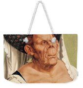 A Grotesque Old Woman Weekender Tote Bag