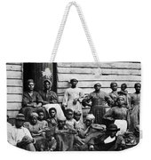 A Group Of Slaves Weekender Tote Bag