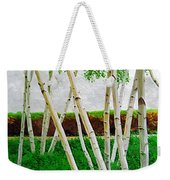 A Grove Of Birches 1 Weekender Tote Bag