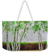 A Grove Of Birches 2 Weekender Tote Bag