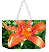 A Grrreat Tiger Lily Weekender Tote Bag