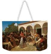 A Gypsy Dance In The Gardens Of Alcazar Weekender Tote Bag
