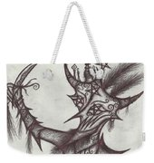 A Harlequin, The Devil Weekender Tote Bag