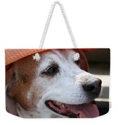 A Hat For Buddy Weekender Tote Bag