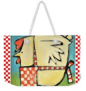 A Hen Is An Eggs Way Weekender Tote Bag