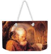 A Hermit Praying 1670 Weekender Tote Bag