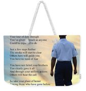 A Hero's Welcome - Air Force 2 Weekender Tote Bag