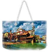 A Hidden Place In Venice Weekender Tote Bag