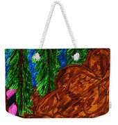 A Hike On A Park Trail Weekender Tote Bag