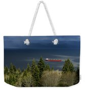 A Hole In The Clouds Weekender Tote Bag