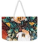 A Holiday Bouquet Weekender Tote Bag