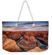 A Horseshoe Bend Morning  Weekender Tote Bag
