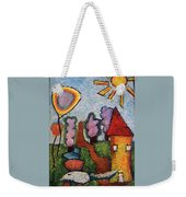 A House And A Mouse Weekender Tote Bag