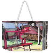 A I Farm Apple Squeeze Dragon Weekender Tote Bag