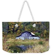 A Is For Autumn Weekender Tote Bag