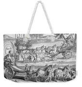 Chariot Of Apollo Weekender Tote Bag