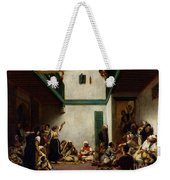 A Jewish Wedding In Morocco Weekender Tote Bag by Ferdinand Victor Eugene Delacroix