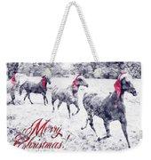 A Joyful Christmas Weekender Tote Bag