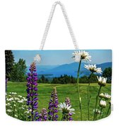 A June Day In Heaven Weekender Tote Bag by Kendall McKernon