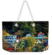 A Juneau Hillside  Weekender Tote Bag