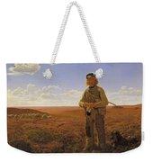 A Jutland Sheperd On The Moors Weekender Tote Bag