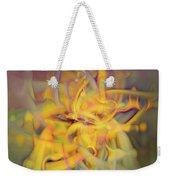 A Kinder, Gentler Abstract On Drugs Weekender Tote Bag