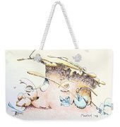 A Kiss For Baby Weekender Tote Bag