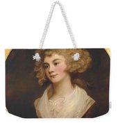A Lady In A Brown Dress Weekender Tote Bag