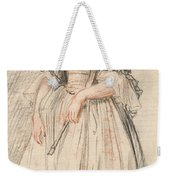 A Lady With A Fan Weekender Tote Bag