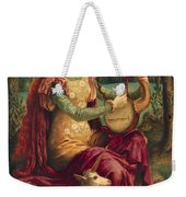 A Lady With A Unicorn Weekender Tote Bag