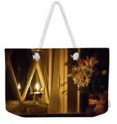 A Lamp In The Window For My Love Weekender Tote Bag
