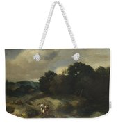 A Landscape With Tobias And The Angel Weekender Tote Bag