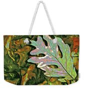 A Leaf On The Pile Weekender Tote Bag