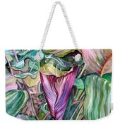 A Light In The Garden Weekender Tote Bag