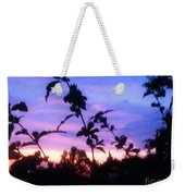 A Lighter Side Of A Sunset Weekender Tote Bag
